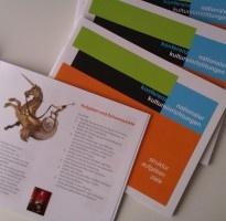 Broschüre der Konferenz Nationaler Kultureinrichtungen