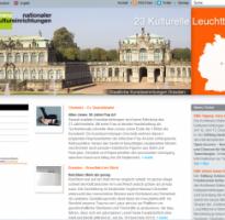 Internetredaktion für die Konferenz Nationaler Kultureinrichtungen