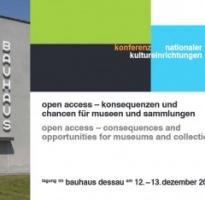 "Tagungsdokumentation ""Open Access"" – Museumsobjekte digital"