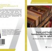 Buch: Handschriftliche Widmungen